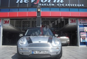 orjinal araç şeritleri mini couper