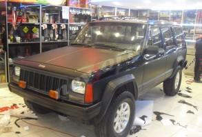 araç kaplama jeep
