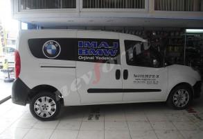 reklam yazıları IMAJ BMW