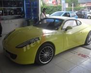 araç kaplama sarı
